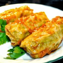 Polish Stuffed Cabbage