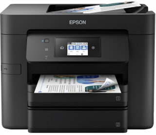 Boost your output alongside this minor nevertheless high Epson Workforce Pro WF-4730DTWF Driver Download
