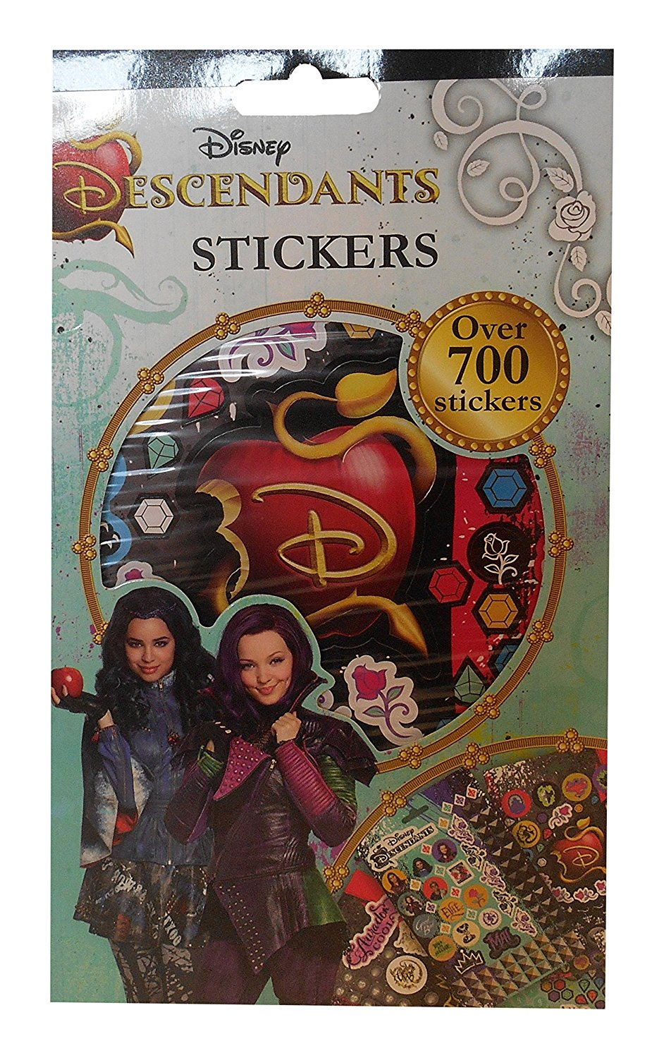 Disney Descendants Party Ideas Stickers For A Picture Frame Or Goody Bags