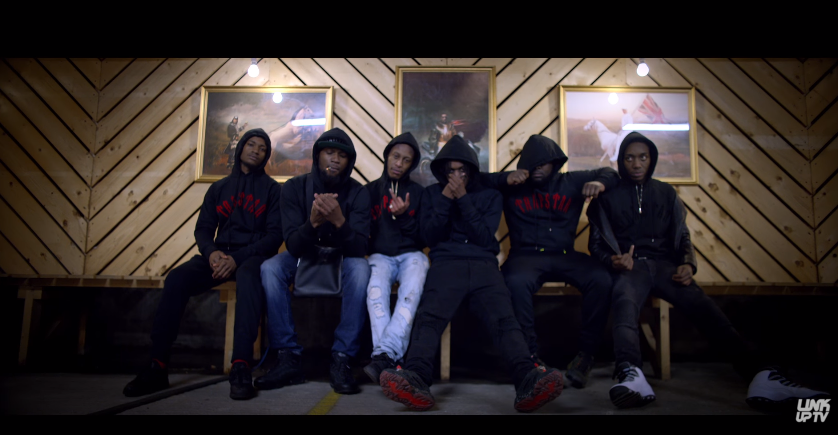 Section boyz have released a visual to their remix of lethal bizzle