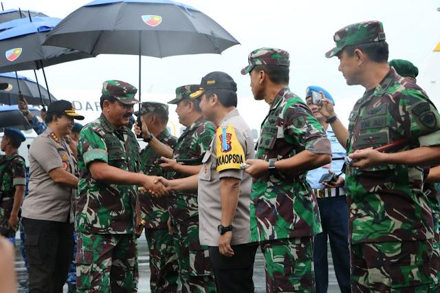 Kunjungan Kerja Panglima TNI ke Malang