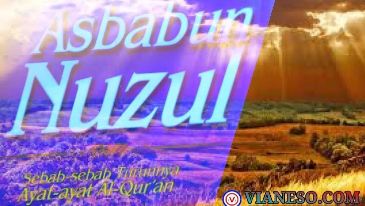 Asbabun Nuzul Sebab-Sebab Turunnya Al-Qur'an