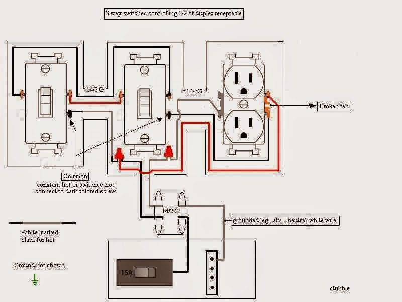 7 way plug wiring diagram standard post purpose 3 way switch - eee community