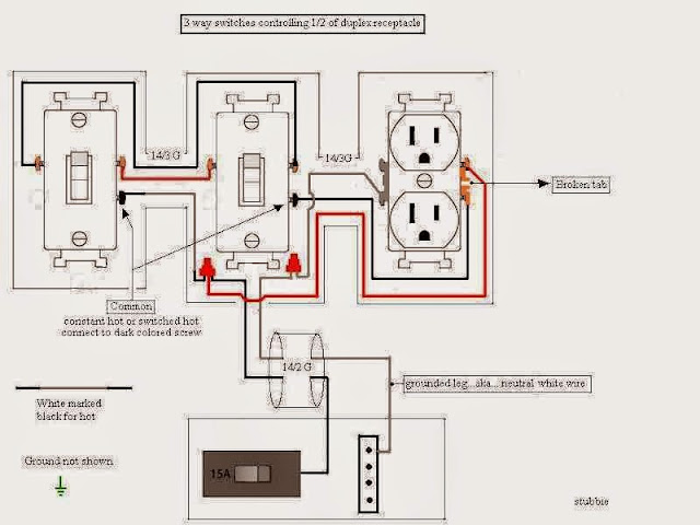 Outlet Switch Wiring Diagrams