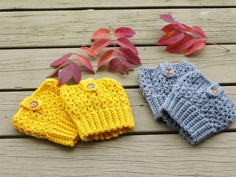 Crochet Dreamz Bailey Boot Cuffs Free Crochet Pattern