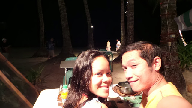 Dinner by Boracay Beach