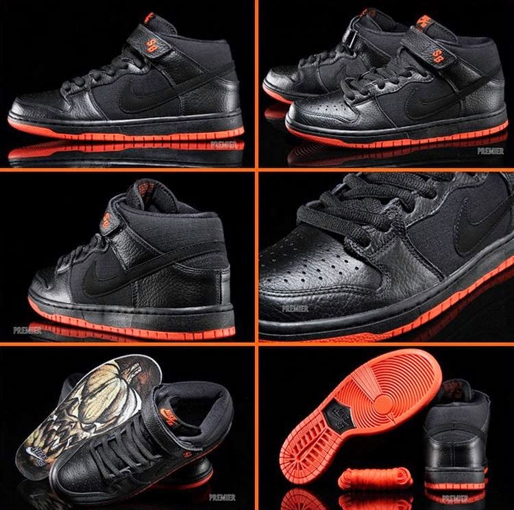 f5c3cb8287ff Nike Foamposite For Kids Kiry Irving · Halloween Foamposites  THE SNEAKER  ADDICT  Nike SB Dunk Mid