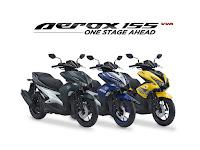 Indent online Yamaha Aerox 155, buka celengan sob