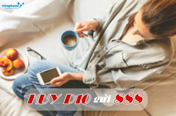 Hướng dẫn hủy gói 3G ngày D10 Vinaphone