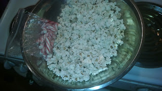 Popcorn kernels in the soul