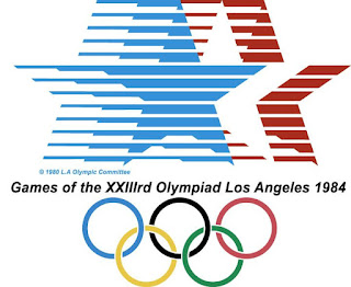 Los Angeles 1984 Olympic Logo