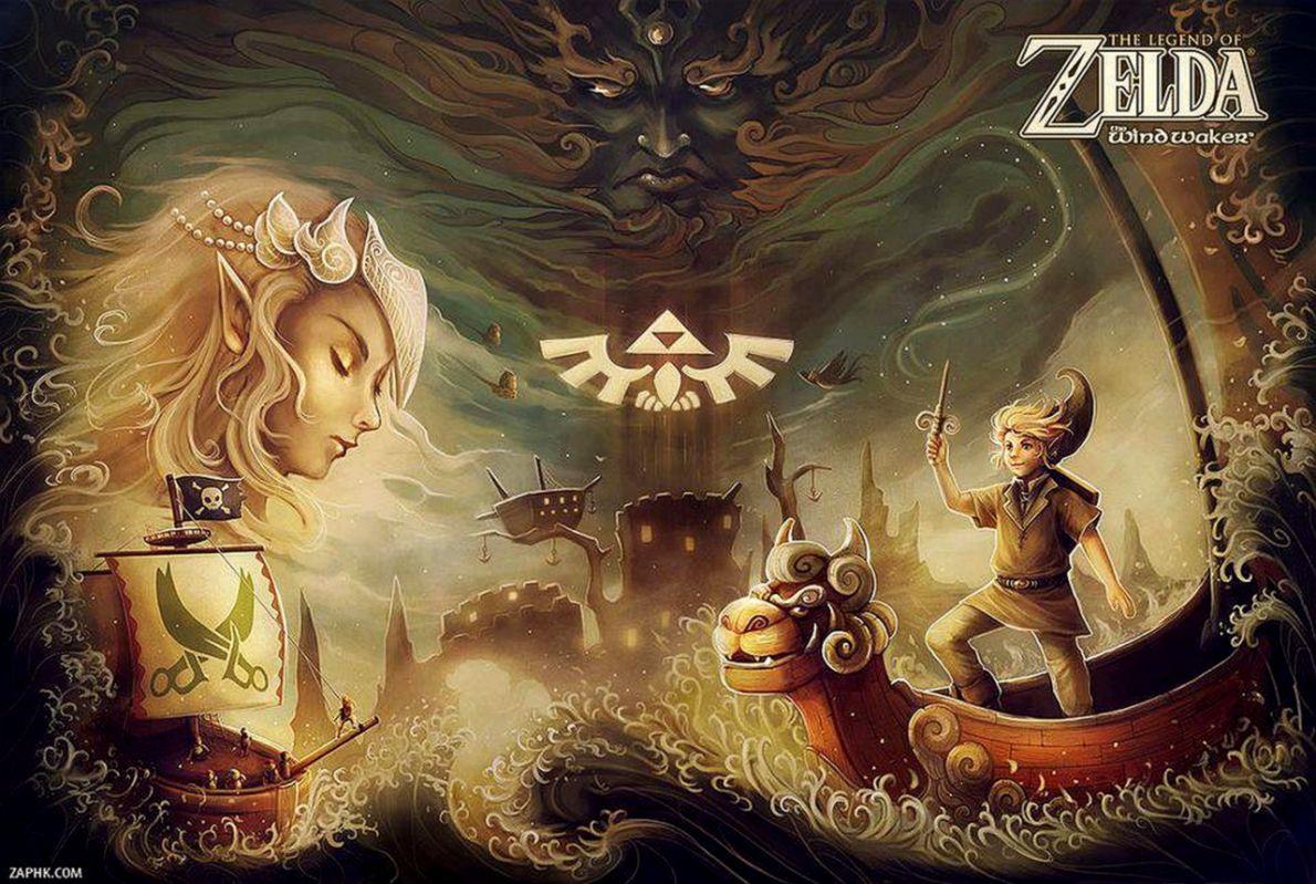 The Legend Of Zelda The Wind Waker Wallpaper Metro Wallpapers