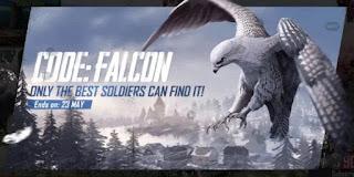 Code Falcon di PUBG Mobile