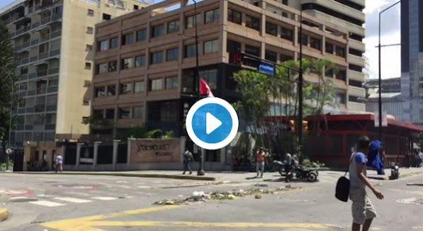 Policía Bolivariana bombardeó embajada de Canadá con lacrimógenas