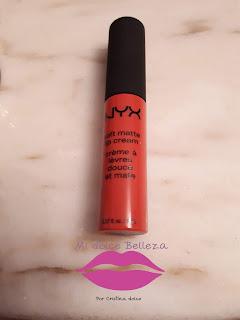 Soft Matte Lip Cream in Ibiza NYX
