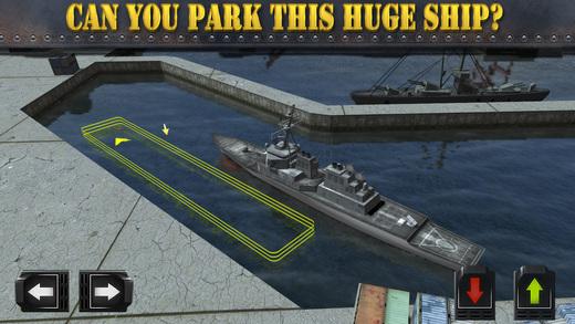 لعبة الحرب البحرية Navy Boat Parking Simulator