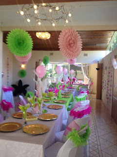 baby showers and bridal shower venue with halaal catering in johannesburg