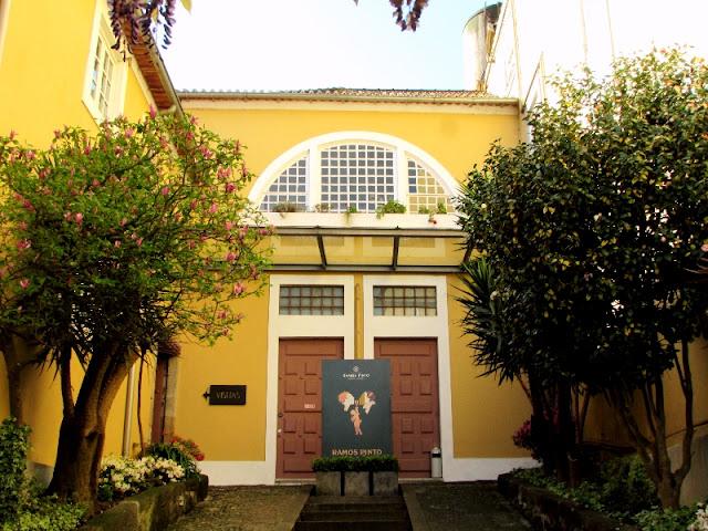 fachada e entrada da casa Ramos Pinto
