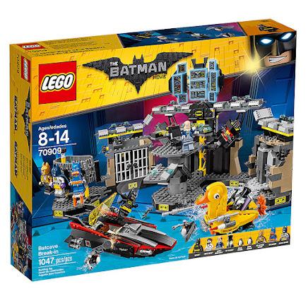 LEGO 70909 - Włamanie do Jaskini Batmana