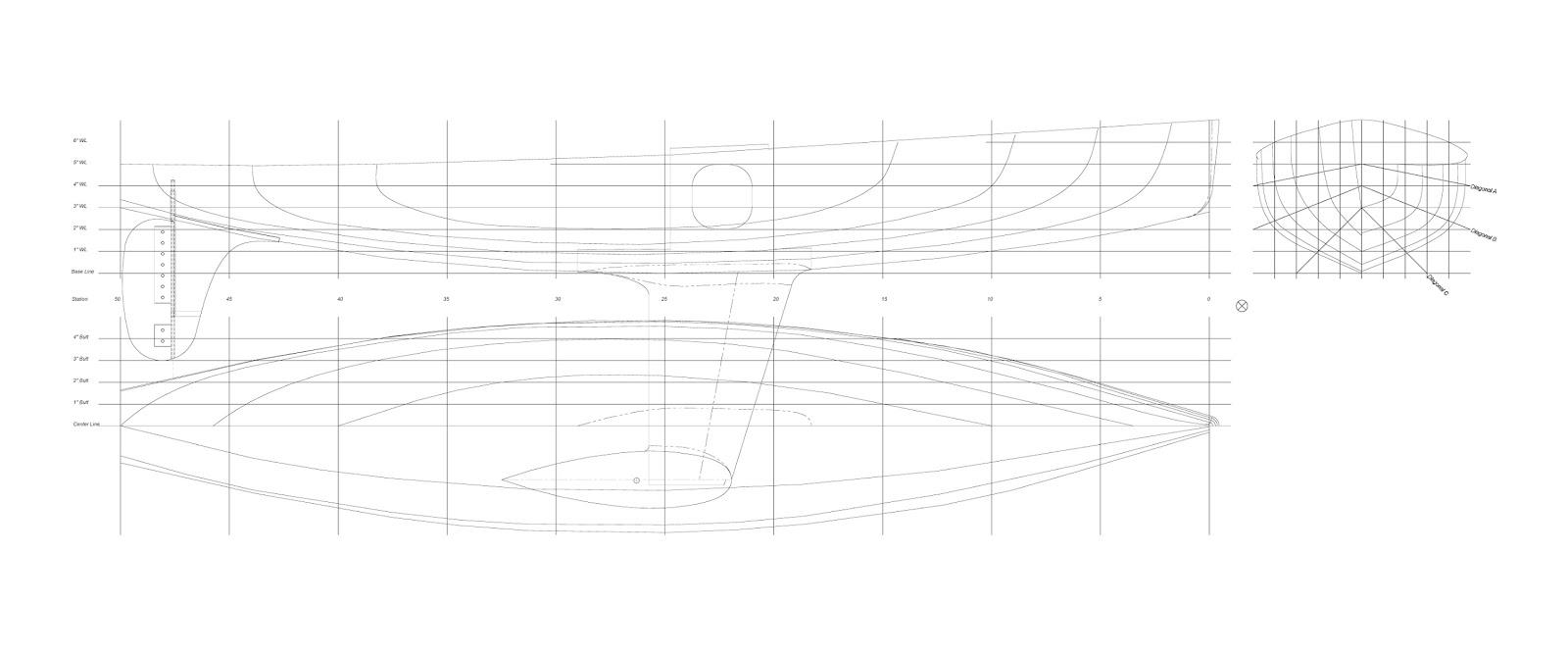 Riptide II RC Sailboat 3D Model