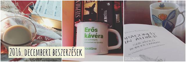 2016. decemberi beszerzések könyves vélemény, könyvkritika, recenzió, könyves blog, könyves kedvcsináló, György Tekla, Tekla Könyvei