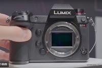 LUMIX S1R プロトタイプ正面画像