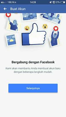 Cara buat akun facebook lewat hp Dengan gmail 1