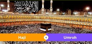 Perbedaan Haji dan Umroh Menurut Agama Islam