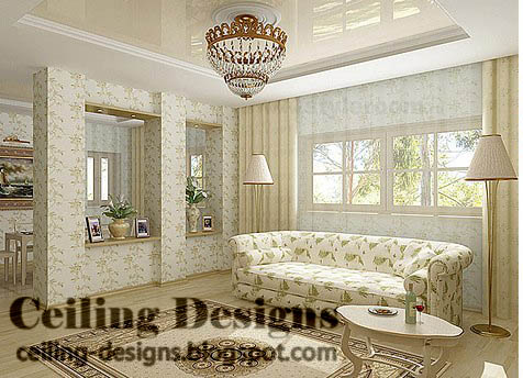 Simple ceilings for dwelling - Simple Ceiling Designs For Living Room