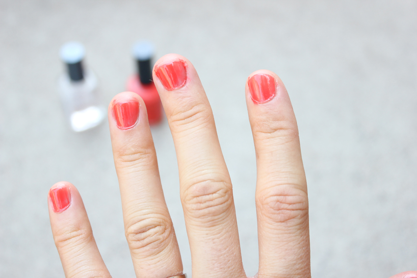 Pin Test: Does Cold Water Dry Nail Polish?