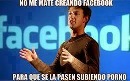 """Mark Zuckerberg """"No me mate creando Facebook para que se pasen subiendo porno"""""""