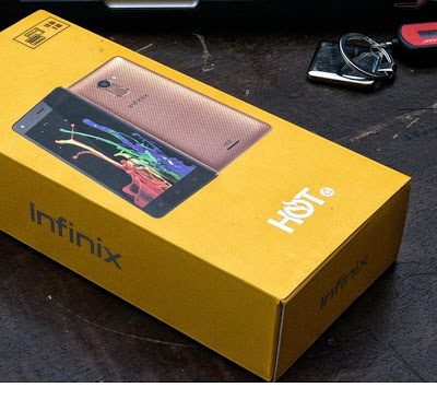 Infinix Hot 4 Unboxing Photos