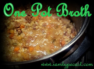 One Pot Cooking: Broth