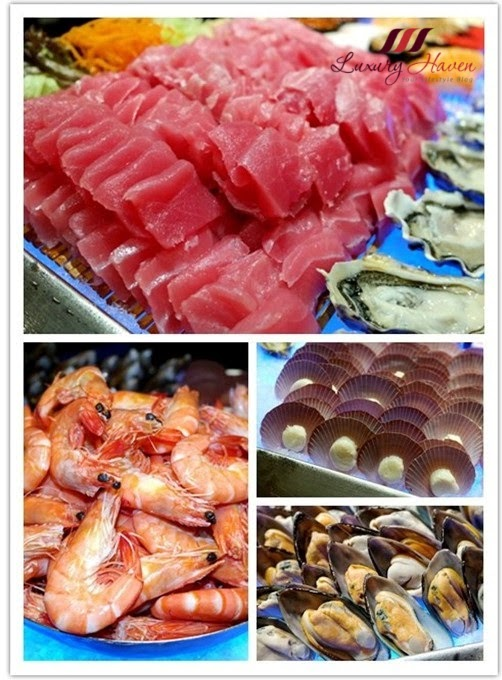 concorde hotel singapore spices cafe seafood buffet reviews