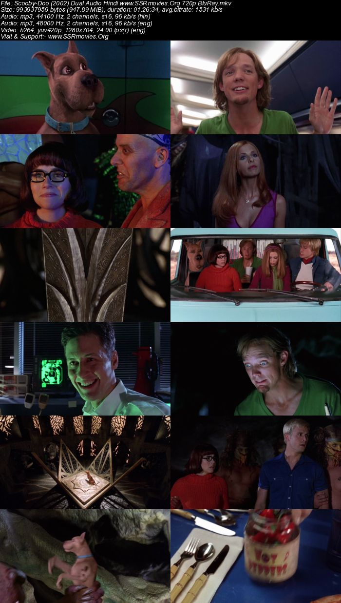 Scooby-Doo (2002) Dual Audio Hindi 720p BluRay