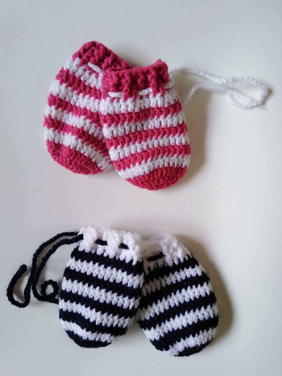 Baby Crochet Mittens Beginner Free Pattern Twins Edition Crochet