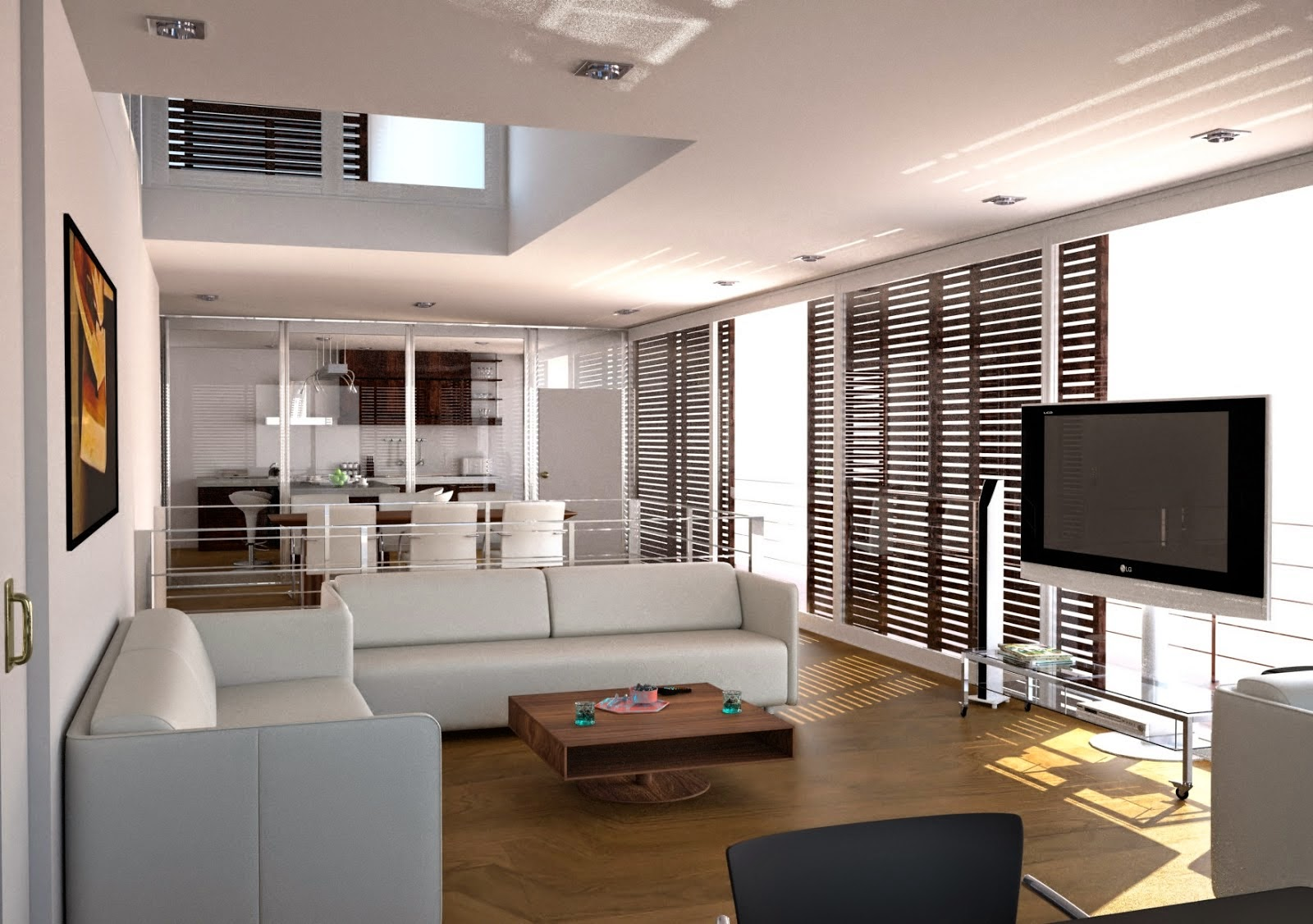 Comfortable home interior design