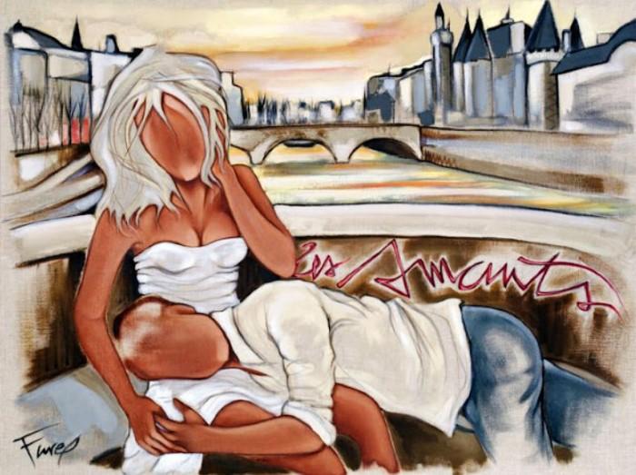 Современные художники Франции. Pierre Farel 11