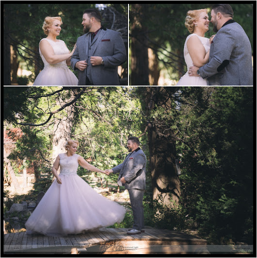 Aaron + Melissa Rustic Glam Forest Twin Peaks Wedding
