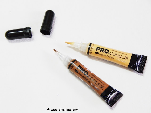 L.A. Girl Pro Conceal HD Beautiful Bronze and Yellow Corrector Review