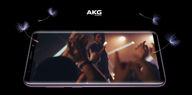 Samsung Galaxy S9 and S9 Plus powered by AKG Harman Speakers