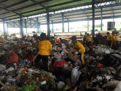 Kunjungan Edukasi ke Tempat Pembuangan Sampah (TPS) Mulyoagung