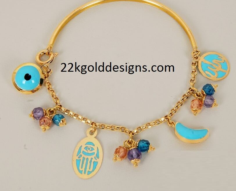 Little Girls Fashion Gold Necklace