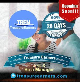 TREASURE EARNERS (TREN); Make 60% (Local Currency) In 20 Days