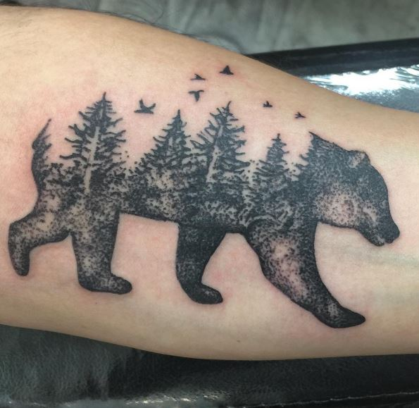 50 Amazing Bear Tattoos Designs and Ideas (2018 ...