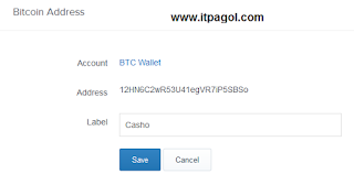 Bitcoin Address details