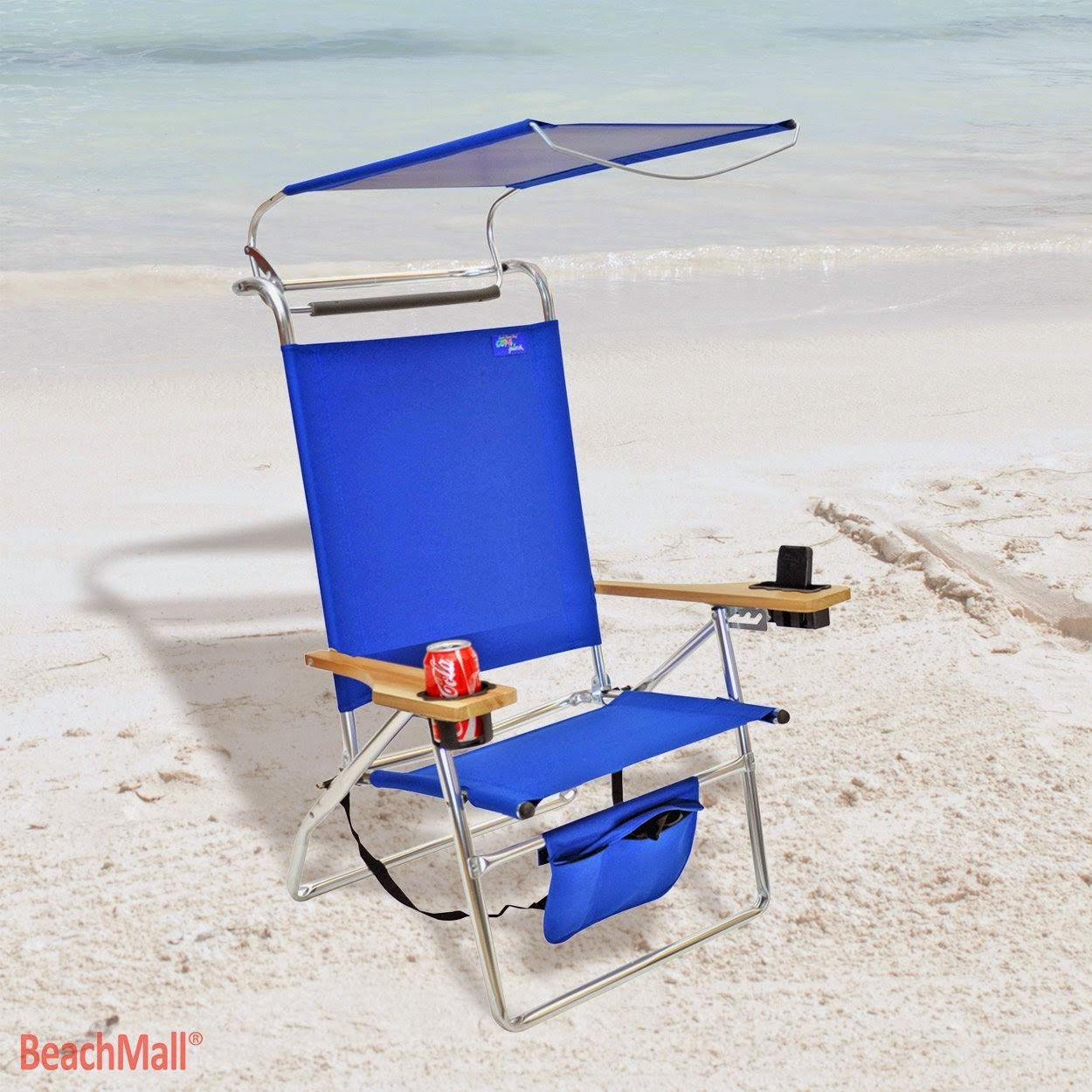 Aluminum Beach Chair with Canopy And Storage Pouch  sc 1 st  cheap beach chairs & cheap beach chairs: beach chairs with canopy