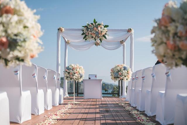 Ślub kościelny na plaży
