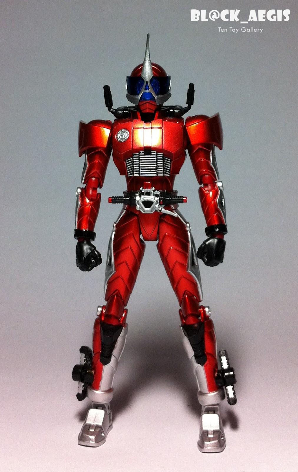 S.H. Figuarts Shinkocchou Seihou Kamen Rider Accel Gallery ...  Kamen Rider Accel