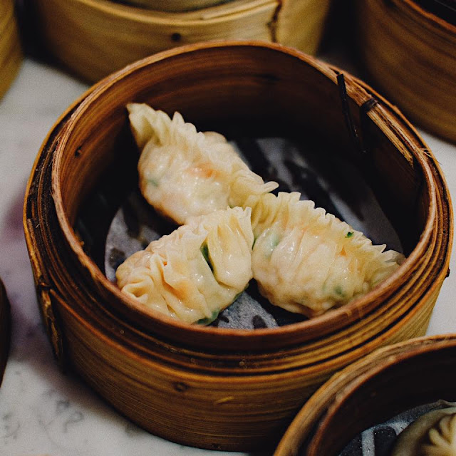 Shark's Fin with Meat Dumpling